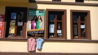 Sklep odzieżowy A&K Stary Sącz